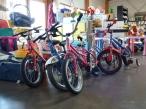 Nombreux modèles de vélos pour enfants (entre 5 et 10€)