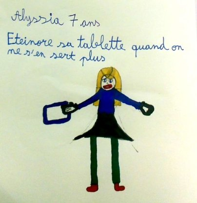Alyssia 7 ans