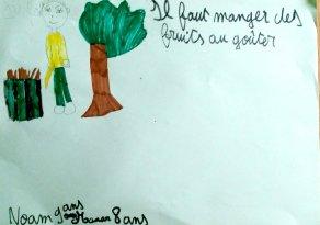 Manar - 8 ans & Noam - 9 ans