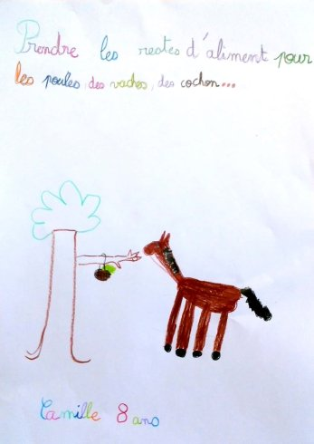 Camille - 8 ans