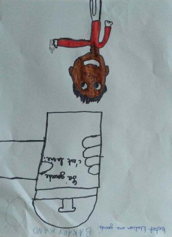 Bakary - 8 ans